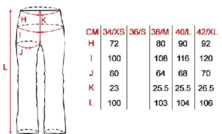 Marimi pantaloni ski