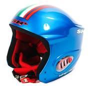Casca ski SH+ KING RACER EVO 4FF, albastru steag
