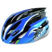 Casca bicicleta SH+ NATT, albastru/argintiu