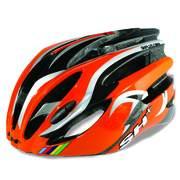 Casca bicicleta SH+ NATT, portocaliu/argintiu