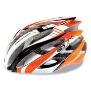 Casca bicicleta SH+ ZEUSS, portocaliu/alb