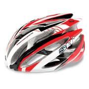 Casca bicicleta SH+ ZEUSS, rosu/alb