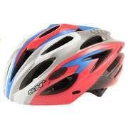 Casca bicicleta SH+ DARVER, rosu/albastru