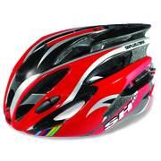 Casca bicicleta SH+ NATT, rosu/alb