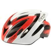 Casca bicicleta SH+ SPEEDY, rosu/alb
