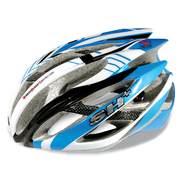 Casca bicicleta SH+ ZEUSS, albastru/alb