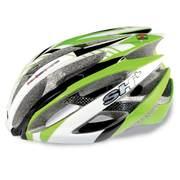 Casca bicicleta SH+ ZEUSS, verde/alb